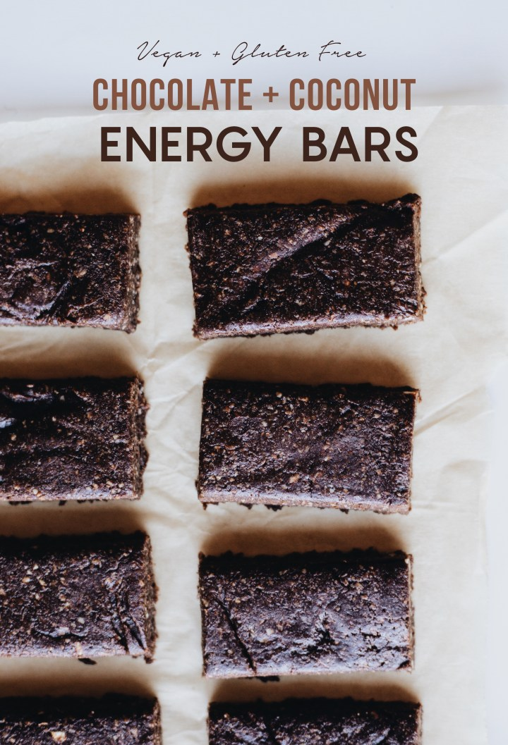 chocolate energy bars