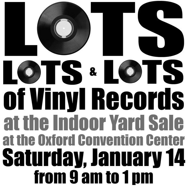 Vinyl Record Sale