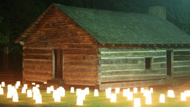 Luminaries at Shiloh, April 7, 2012 Photograph by Newt Rayburn