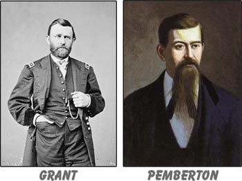 Union General Ulysses S. Grant was occupying Oxford in December of 1862, while Confederate General John C. Pemberton was based in Grenada. Their troops were fighting at all points in between, but especially in Coffeeville.