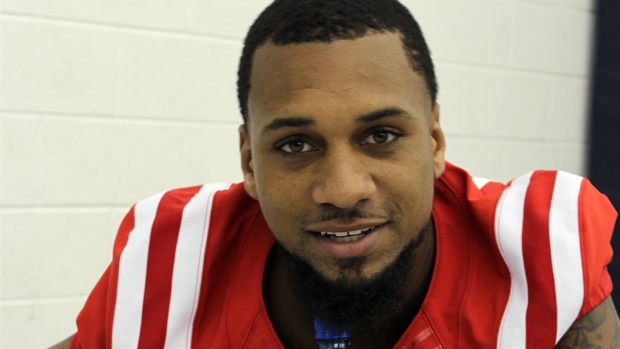 Donte Moncrief photograph by Newt Rayburn