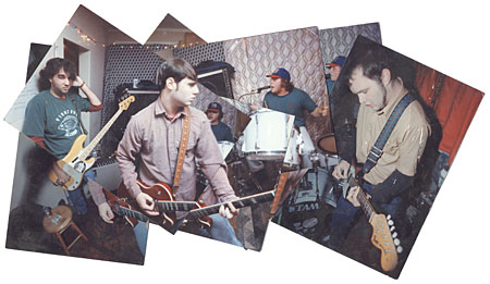 The Neckbones Collage by Newt Rayburn