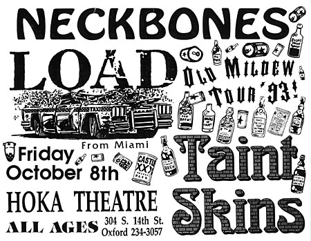 Neckbones - Load Flyer