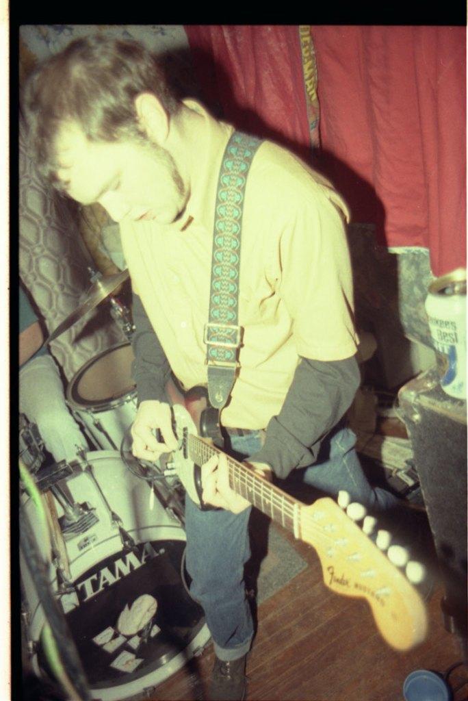 Tyler Keith - The Neckbones - 1993 - by Newt Rayburn