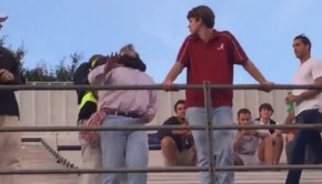 Watch Vaught-Hemingway Security Take Out an Alabama Fan Tossing Drinks