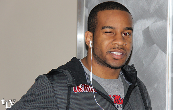 Denzel Nkemdiche is still hospitalized in Oxford with an undisclosed illness. Photograph by Shelby Rayburn - © The Local Voice.