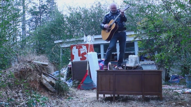 Tyler Keith Tiny Abandoned Desk Concert