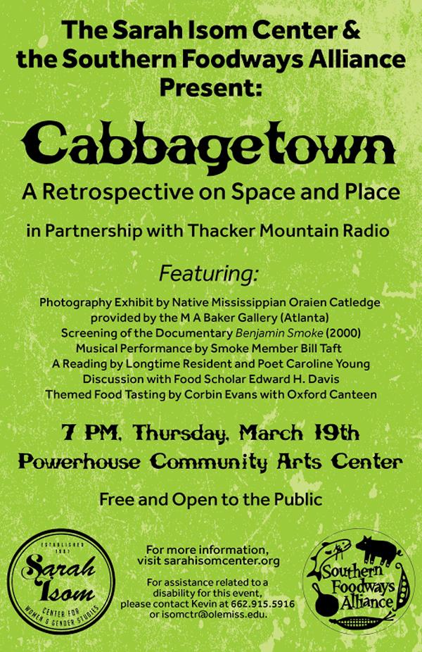CabbagetownPoster