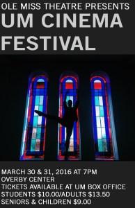 UM Cinema Fest Poster