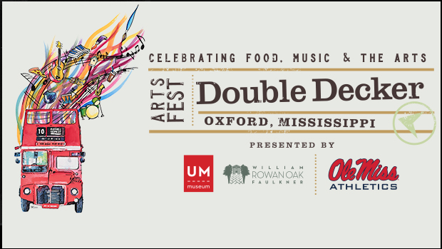 Double Decker Arts Festival 2017 Music Guide for Oxford, Mississippi