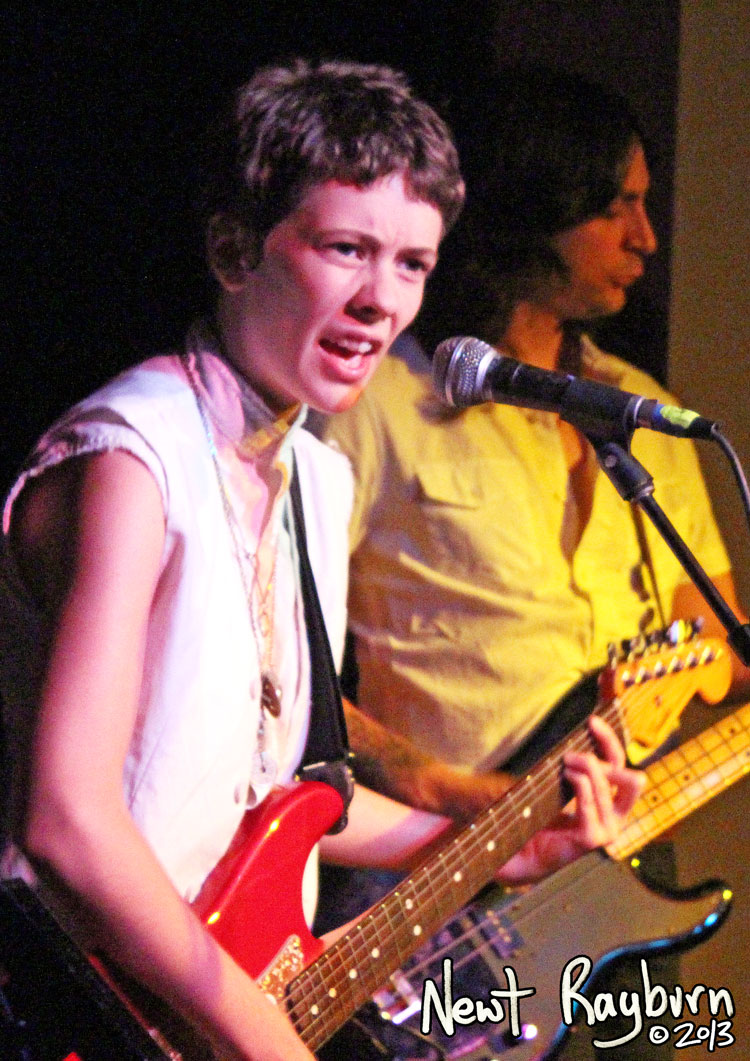 Jessi Zazu of Those Darlins - Photograph by Newt Rayburn © September 5, 2013