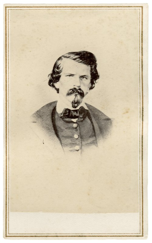 Confederate General Earl Van Dorn.