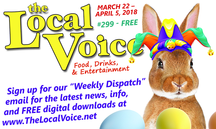 The Local Voice #299 is out now – Download the FREE PDF for Entertainment News in Oxford, Ole Miss, and North Mississippi