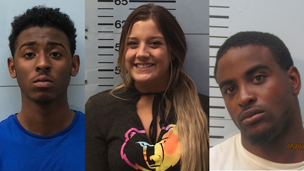 Oxford, Mississippi Police Make Arrests for Domestic Violence, Forgery, and Credit Card Fraud