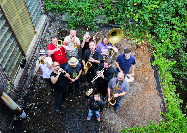 Memphis, Tennessee's Mighty Souls Brass Band Set to Take Over The Library Sports Bar in Oxford, Mississippi on Friday, July 20
