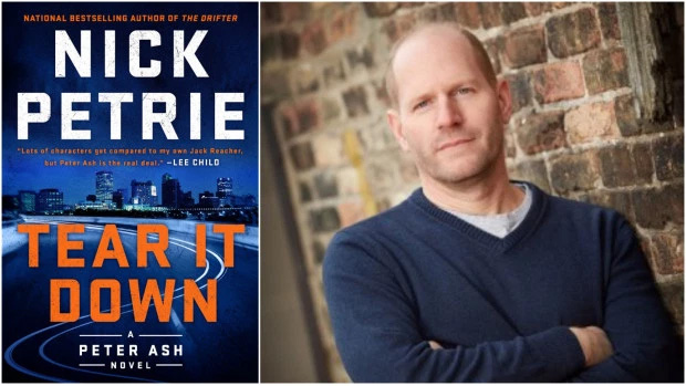 "Best-Selling Author Nick Petrie is at Square Books in Oxford, Mississippi January 23 with His Book ""Tear It Down"""