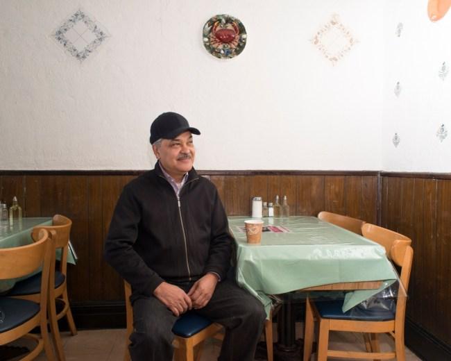 Luis Miguel Collado, owner of El Castillo at 131 Rivington St. Photo by Alex M. Smith.