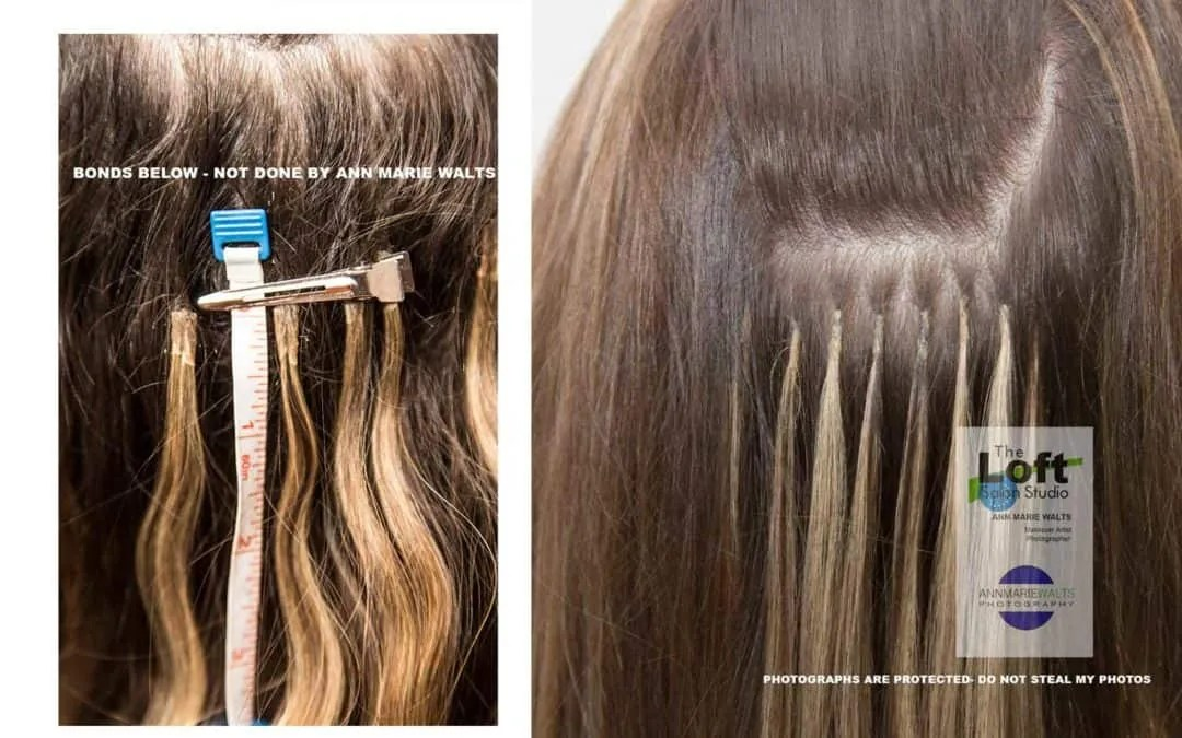 How To Avoid Damage Hair Extensions L Fine Hair Salon In