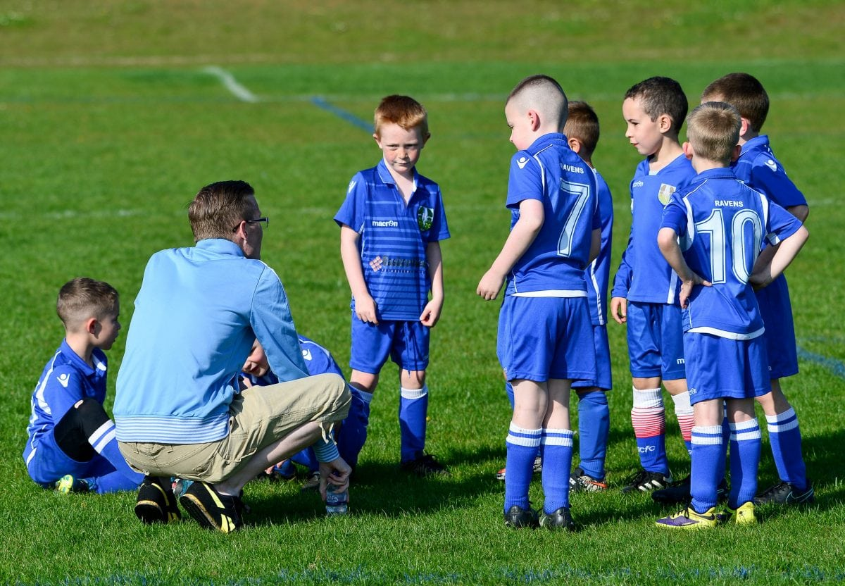 Dying Youth Football Coach S Last Team Talk Plea To