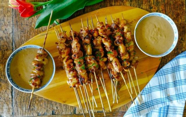 High protein healthy restaurant food