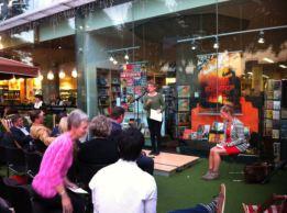 Ellen Phethean reading her poem, 'Late Song'