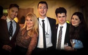 Will Fox-Staeton, Lucy Binnersley, Rufus Cuthbert, Kristian Radev, Abi Lofthouse