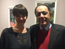 Sarah Westcott + Dr Al Chalabi
