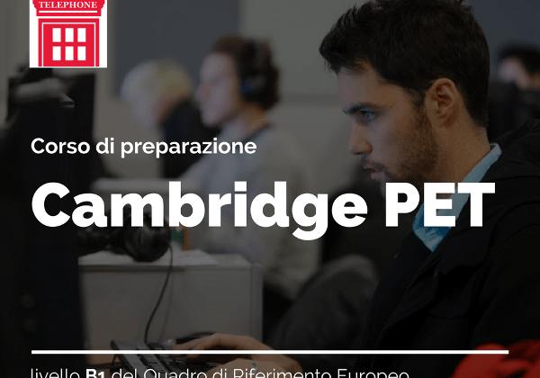 Corso di preparazione certificazione Cambridge PET