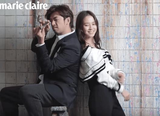 Chen Bolin and Song Ji Hyo,