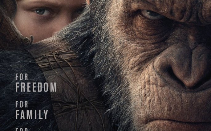 An All Out War For The Planet Of The Apes Coming This July 2017