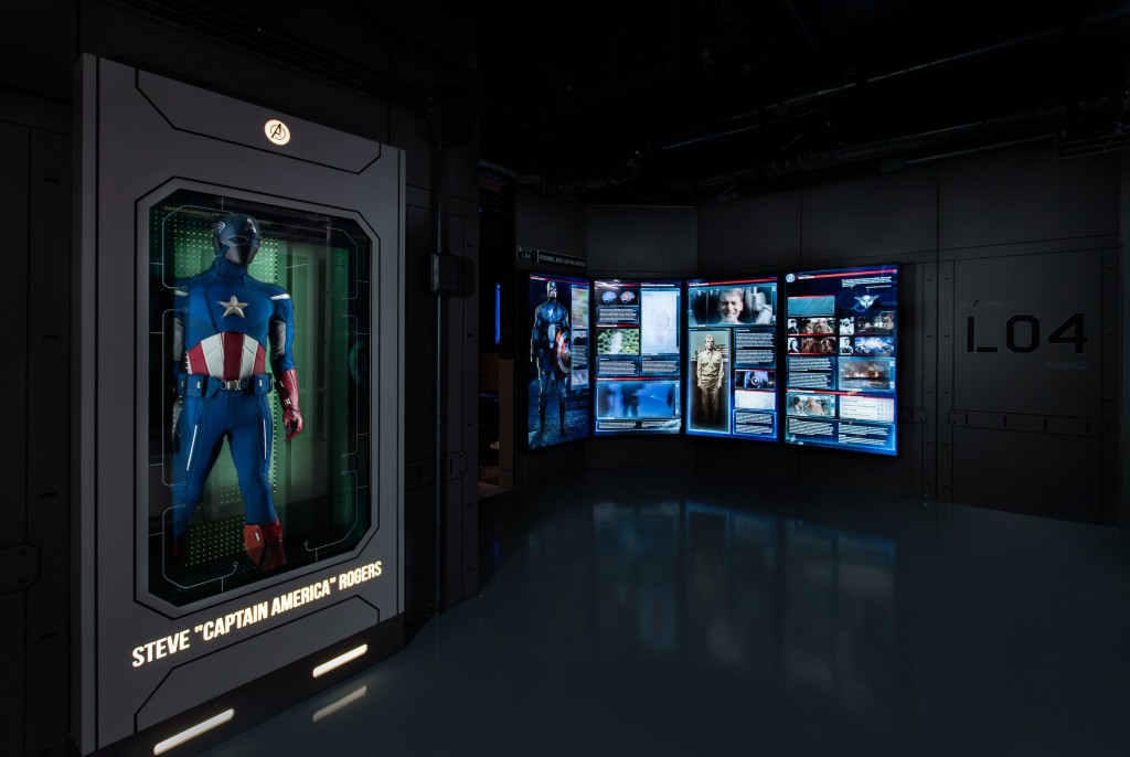 Marvel's Avengers S T A T I O N Exhibition At Excel London