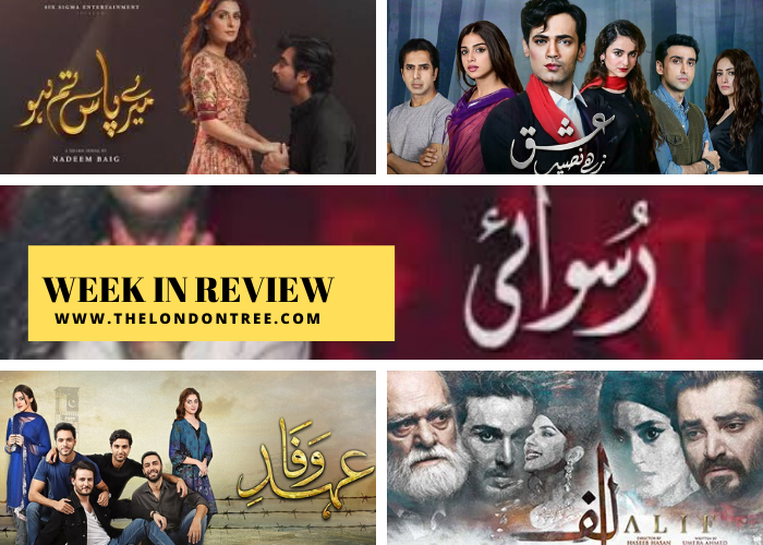 Week In Review: Top Pakistani Dramas That Stole the Spotlight