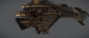 Star Citizen First-Person Space Combat