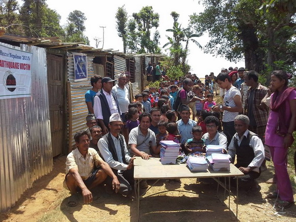 Local school rebuilt in Nepal