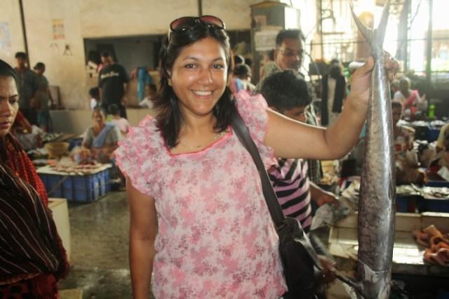 Fish market at Panaji goa during Holiday trip