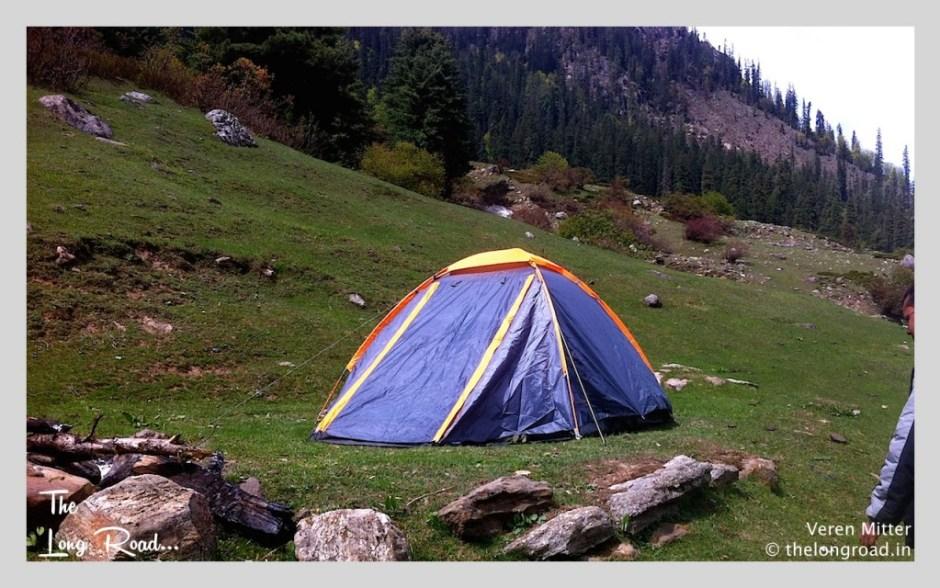 Kheerganga Camp site