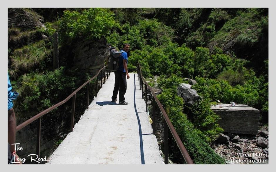 first leg of Kheerganga trek