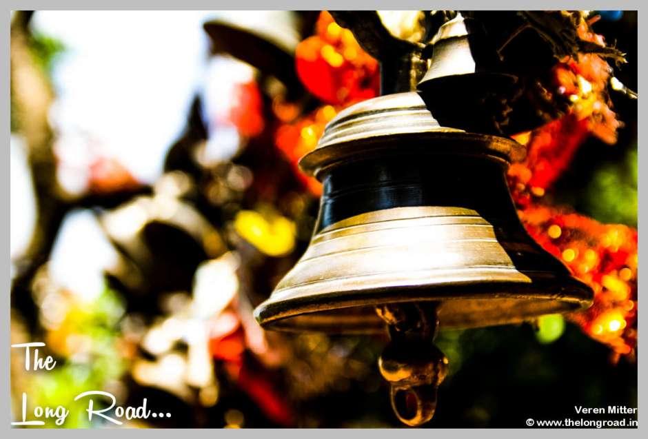Temple Bell at Kumaon Himalaya Uttarakhand India