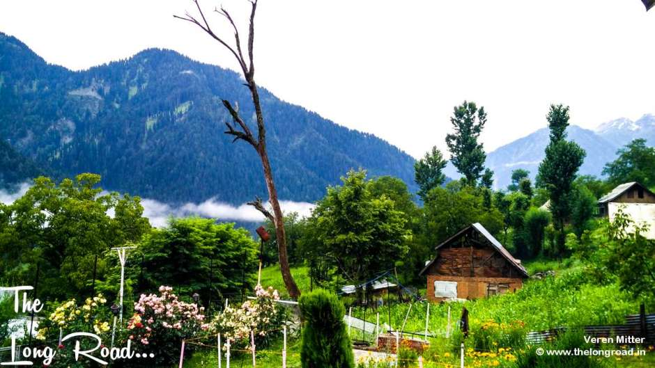 View of Pahalgam early in the morning. Amarnath