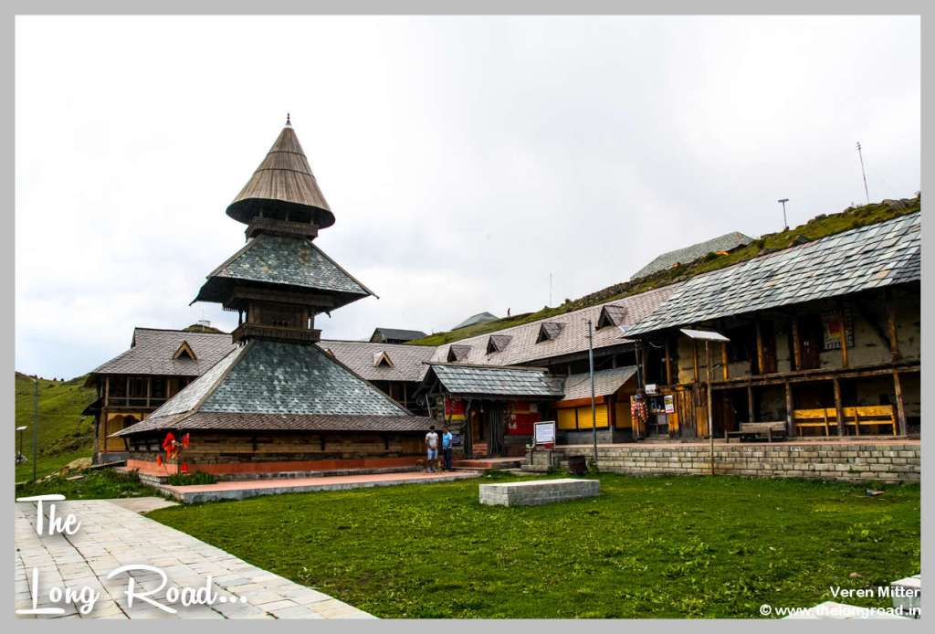 Prashar lake wooden temple