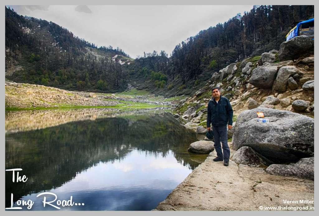 Final thoughts about Kareri lake Veren