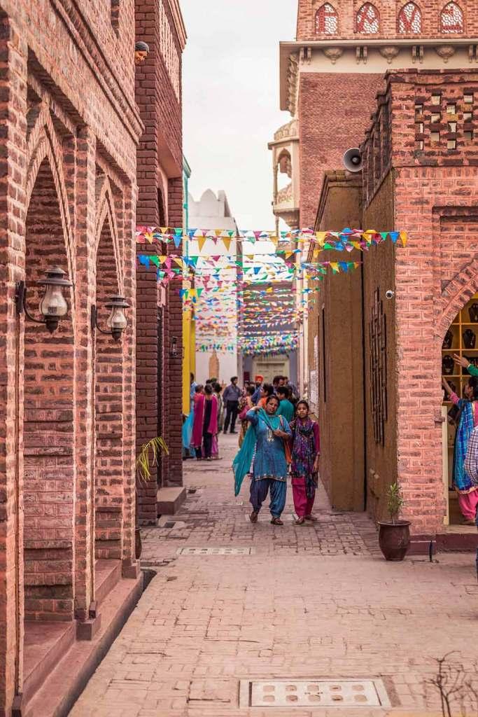 Village street Haveli amritsar