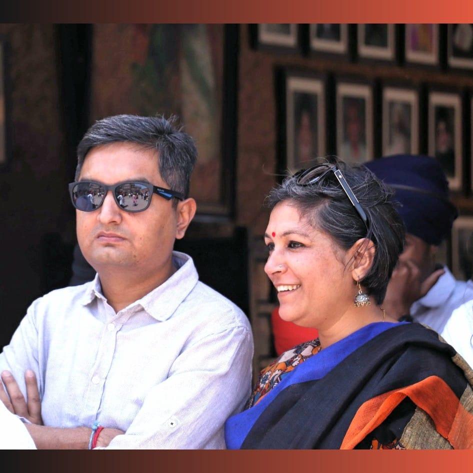 Enjoying the activities Haveli Amritsar .