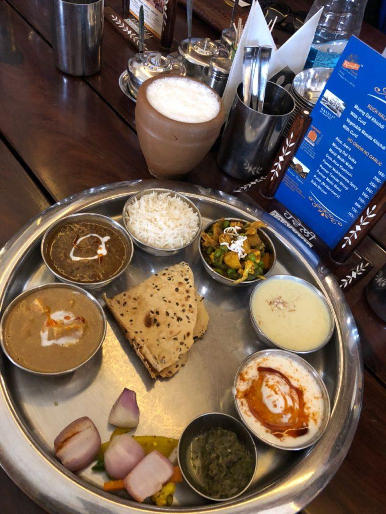 Amritsar Thali served at Haveli Amritsar