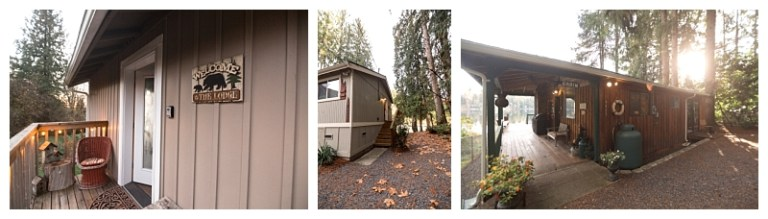 pacific northwest getaways tips for booking your wedding weekend vacation rental bosworth bungalow riverside roost lookout lodge loft