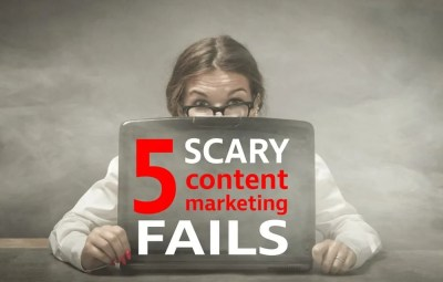 content marketing fails