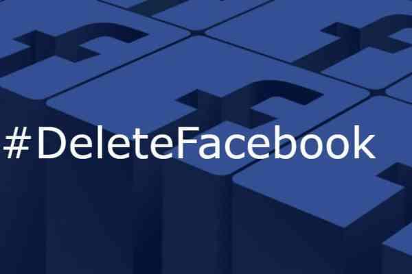#DeleteFacebook