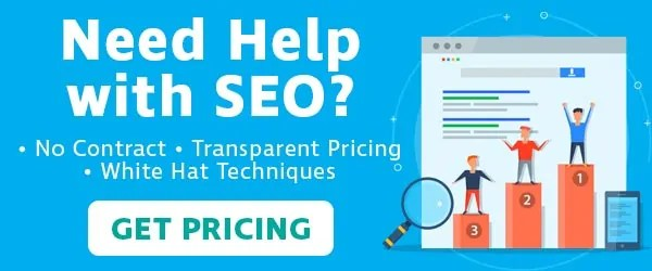 get SEO pricing