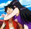 Rubber e Boa Hancock si sposano in One Piece 2