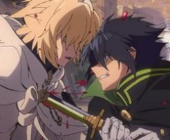8 manga e anime con cacciatori di vampiri e demoni 1 - yuichiro seraph of the end